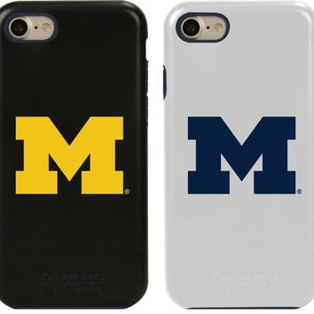 NCAA Michigan Wolverines iPhone 7 Hybrid Guard Dog Phone Case