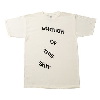 Anti Social Social Club Exclusive 'Everything' Tee (Cream/Black)