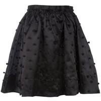 TBA Pompom puff skirt