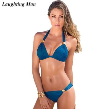 Sexy Top 2018 Brazilian Brand Swimsuit Women Bandage Bikini Set Beachwear Bathing Suits Biquini Swim Wear Swimwear Female Bikini
