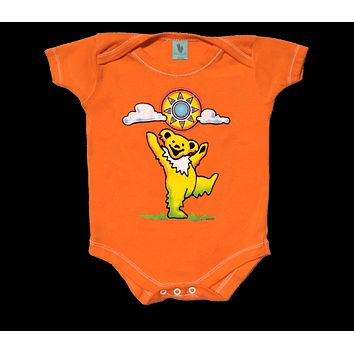 Grateful Dead Sunny Bear Infant Snapsuit