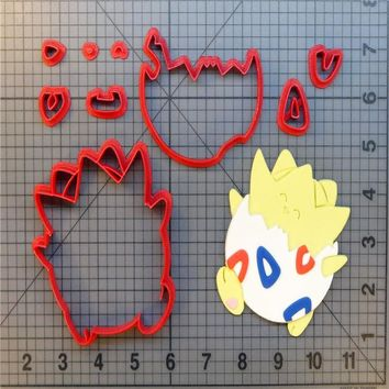 Cartoon  Togepi Cookie Cutter Custom Made 3D Printed Biscuit Tools Cookie Cutters Set For Cake Decorating Mold ToolsKawaii Pokemon go  AT_89_9