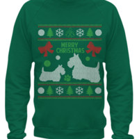 Scottish Terrier - Christmas Sweater Printed scotgift