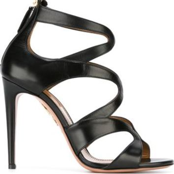 Aquazzura Crisscross Stiletto Sandals - Joseph Uk - Farfetch.com