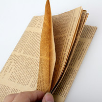 Double Size Wrapping Paper Vintage Newspaper Gift Wrap Artware packing Package Paper Christmas Kraft Paper  75*51cm CA1T