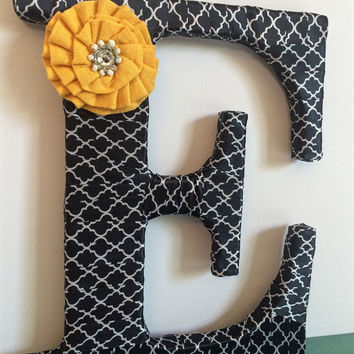 Decorative Letter E by Tightly Wound Designs