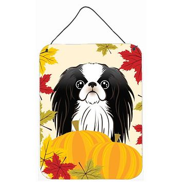Japanese Chin Thanksgiving Wall or Door Hanging Prints BB2036DS1216