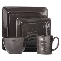Threshold™ Wellsbridge Square Ceramic 16 Piece Dinnerware Set - Elephant