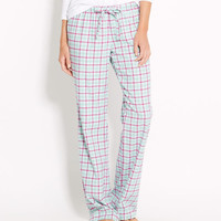Tinsel Plaid Flannel Lazy Pants