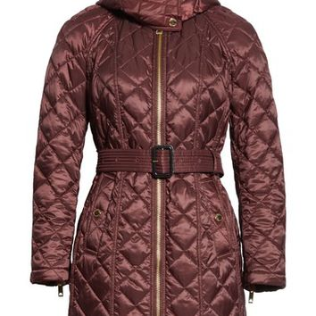 Burberry Baughton Quilted Coat | Nordstrom