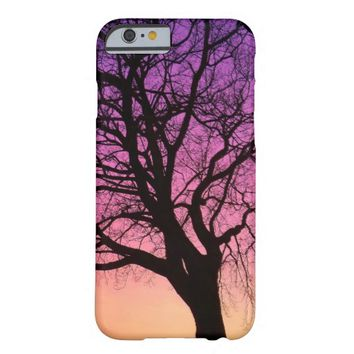 Tree Silhouette in the Sunset - iPhone 6 Cover Barely There iPhone 6 Case