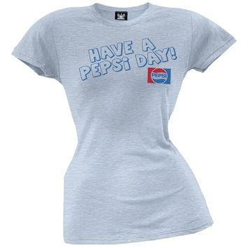Pepsi - Have A Pepsi Day Juniors T-Shirt