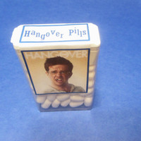 New Year's Eve HANGOVER PILLS labels,for Tic Tacs,candy,party favors