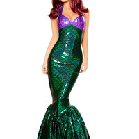 Roma Costume - 10076 - 1pc Mermaid Temptress