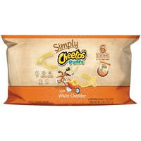 Cheetos® Simply White Cheddar Puffs Cheese Flavored Snacks 6-1 oz. Bags - Walmart.com
