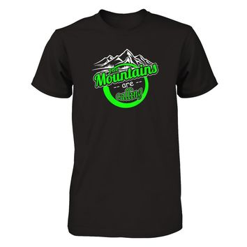 The Mountains Are Calling - Shirts