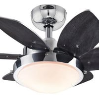Quince 24-Inch Reversible Six-Blade Indoor Ceiling Fan