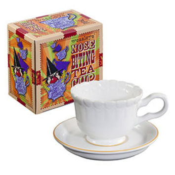 Universal Studios Wizarding World of Harry Potter Weasleys' Nose-Biting Tea Cup New with Box
