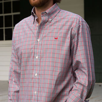 The Toulouse Gingham - Wrinkle Free - Collegiate - University of Louisiana at Lafayette
