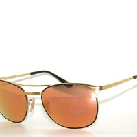 RAY BAN SunglaSSes 3429M GOLD-BLACK/ FLASH COPPER 9000Z2 RAYBAN 3429 55