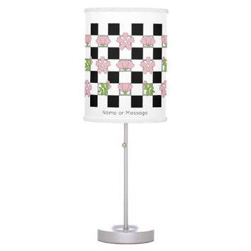 Cherry Blossom - Sakura - Floral Pattern Stylish Table Lamp