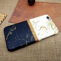 Classic Double Marble Case for iPhone