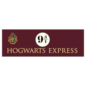 Hogwarts Express 9 3/4 Harry Potter Movie Wall Art Wall Decor Canvas Prints Art Poster Paintings For Living Room No Frame