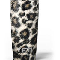Light Leopard Fur Yeti Rambler Skin Kit