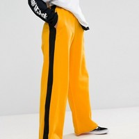 Adolescent Clothing Wide Leg Joggers With Side Stripe at asos.com