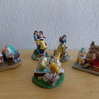 Disney Lil Classics 5 pc. Snow White and the Seven Dwarfs PVC Figurines