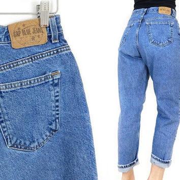 368510502c4f7 Vintage 90s GAP High Waist Classic Fit Women  39 s Ankle Jeans - Size