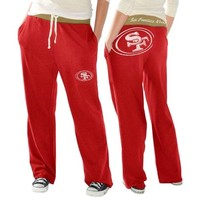 San Francisco 49ers Ladies Recruit Fleece Pants - Scarlet