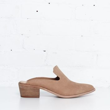 Chinese Laundry Marnie Leather Mules - Tan