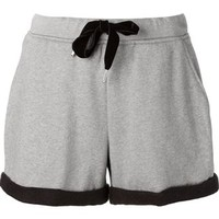 T By Alexander Wang Turn-up Hem Track Shorts - The Webster - Farfetch.com