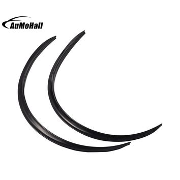 Black Car Tires Eyebrow Wheel Eyebrows Soft Rubber Auto Tyre Decoration Strip