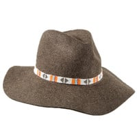 Lovely Bird - Sydney Hat | Heathered Brown