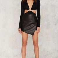 Center of Everything Cutout Bodysuit