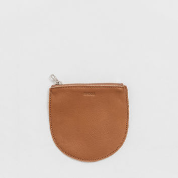 Small Leather Pocket Pouch Saddle