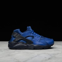 spbest HUARACHE RUN (GS) - GYM BLUE / OBSIDIAN