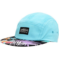 Stussy Girls Hawaiian Black & Mint Camp 5 Panel Hat at Zumiez : PDP