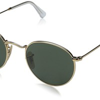 Ray Ban ORB3447 Round Metal Sunglasses, 47mm
