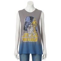 Mighty Fine ''Star Wars'' Empire Strikes Back Juniors' Muscle Tee, Size: