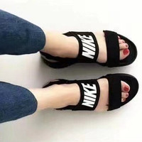 Nike; men's fashion casual slippers