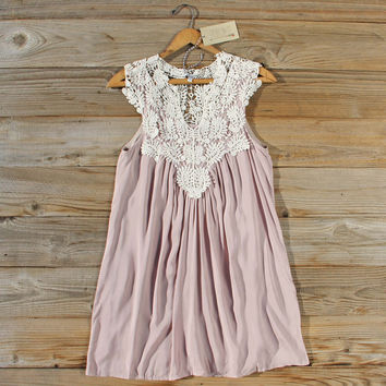Shaded Sky Dress in Taupe