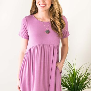 Dedicated to Pockets Babydoll Tunic