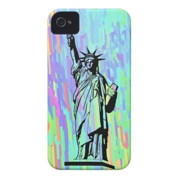 Statue of Liberty iPhone 4 Case-Mate Case