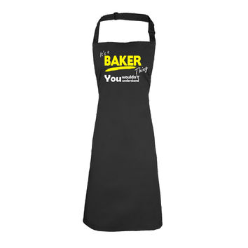123t USA Kids It's A Baker Thing You Wouldn't Understand Cooking Playtime Apron