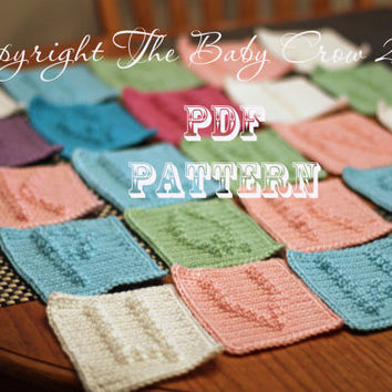 Crochet Pattern Crochet Alphabet Letters from A to by TheBabyCrow