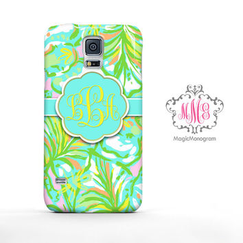 Elephant Ears Lilly Pulitzer Samsung Galaxy S6 Case, Galaxy Note 4 Case