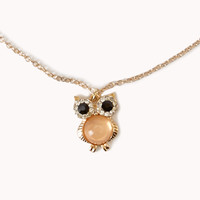 Heirloom Owl Necklace
